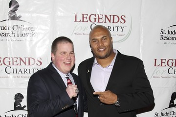 Jake Marshall Guests at the Legends for Charity Dinner