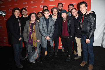 Jake Picking 'Goat' Premiere - 2016 Sundance Film Festival