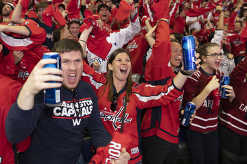 Jakub Vrána Washington Capitals' Fans Gather In Washington, D.C. To Watch Game 5 Of Stanley Cup Finals