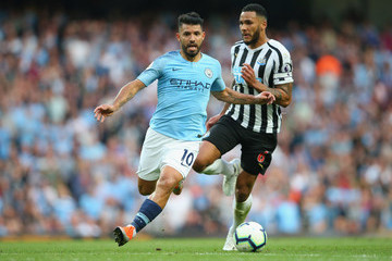 Jamaal Lascelles Manchester City vs. Newcastle United - Premier League