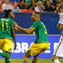Darren Mattocks Photos - Darren Mattocks #11 of Jamaica celebrates scoring the opening goal against the United States of America with Michael Hector #3 during the 2015 CONCACAF Golf Cup Semifinal match between Jamaica and the United States at Georgia Dome on July 22, 2015 in Atlanta, Georgia. - Darren Mattocks Photos - 22 of 110