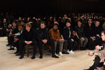Jamal Edwards Burberry Menswear AW16 - Front Row & Runway