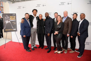 Jamal Henderson Arrivals At 'What's My Name | Muhammad Ali' Tribeca Premiere