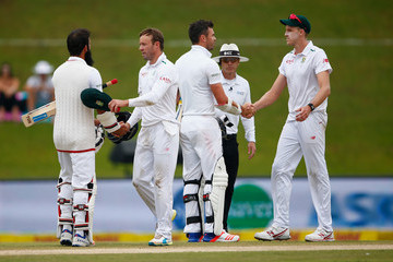 James Anderson Moeen Ali South Africa v England - Fourth Test: Day Five
