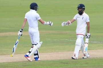 James Anderson Moeen Ali South Africa v England - Fourth Test: Day Three