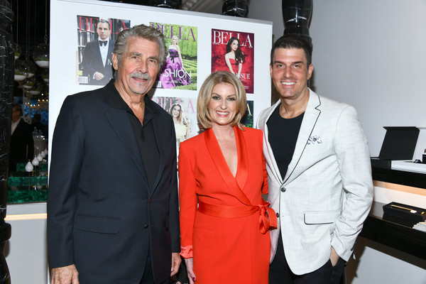 BELLA Los Angeles Men's Cover Launch Party Hosted By James Brolin