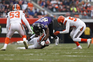 James Burgess Baltimore Ravens v Cleveland Browns