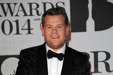 James Corden Arrivals at The BRIT Awards — Part 4