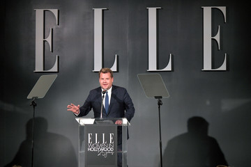 James Corden ELLE's 25th Annual Women In Hollywood Celebration Presented By L'Oreal Paris, Hearts On Fire And CALVIN KLEIN - Show