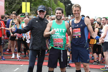 James Cracknell Celebrities Participate in the Virgin London Marathon