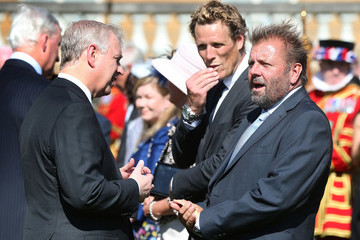 James Cracknell Royal Society for the Prevention of Accidents Centenary Garden Party Hosted at Buckingham Palace