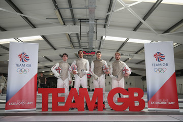James Davis Announcement of Fencing Athletes Named in Team GB for the Rio 2016 Olympic Games