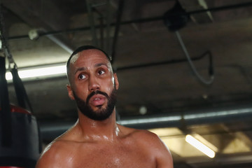 James Degale James DeGale Media Workout