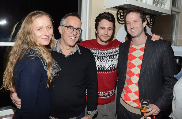 Stella Artois Hosts Press Dinner For James Franco At The Stella Artois Cafe At Village At The Lift - 2013 Park City