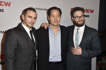 """James Franco Seth Rogen Premiere Of Columbia Pictures' """"The Interview"""" - Arrivals"""