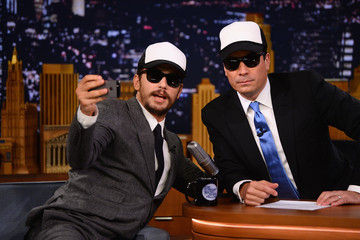 James Franco James Franco Visits 'The Tonight Show'