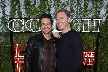 James Franco Coach and Friends of the High Line Summer Party