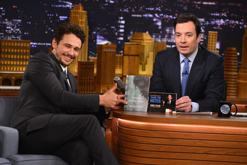 "James Franco James Franco Visits ""The Tonight Show Starring Jimmy Fallon"""