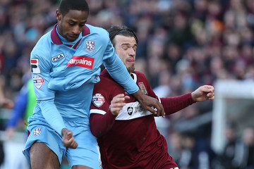 James Gray Janoi Donacien Northampton Town v Tranmere Rovers - Sky Bet League Two