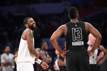 James Harden Kyrie Irving NBA All-Star Game 2018. Source: Getty Images