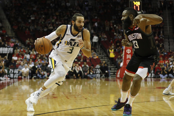 2a9d1b51b James Harden and Ricky Rubio Photos Photos - Utah Jazz vs. Houston ...