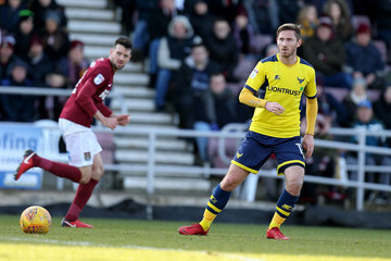 James Henry Northampton Town vs. Oxford United - Sky Bet League One