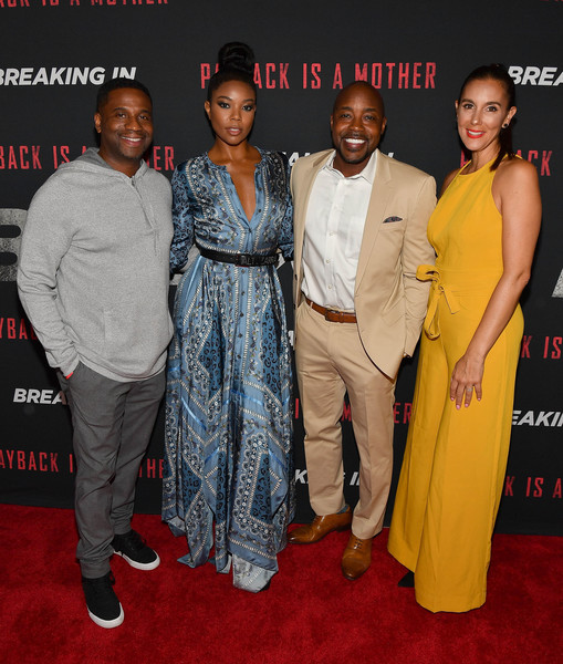 'BREAKING IN' Star And Producer Gabrielle Union, & Producer Will Packer Attend A Private Screening At Regal Atlantic Station In Atlanta
