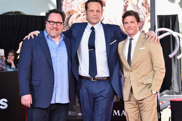 James Marsden Vince Vaughn's Hand and Footprint Ceremony