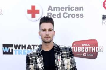 James Maslow What's Trending's Fourth Annual Tubeathon Benefitting American Red Cross