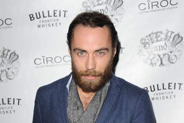 James Middleton Arrivals at the Steam and Rye Launch Party