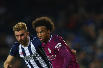 James Morrison West Bromwich Albion v Manchester City - Carabao Cup Third Round