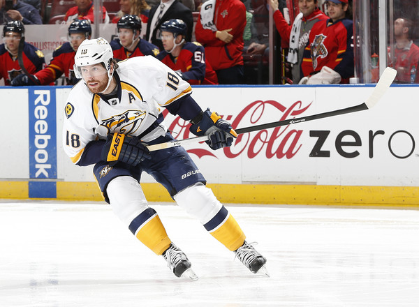 nashville predators v florida panthers in this photo james neal james ...
