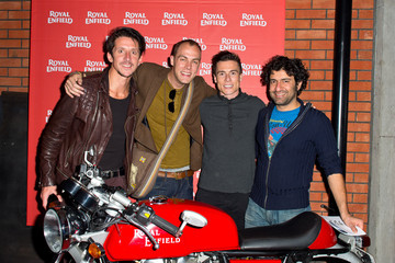 James Toseland The Rain Band Royal Enfield UK Store Launch