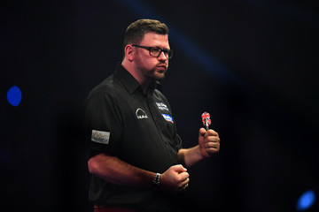 James Wade 2017 William Hill PDC World Darts Championships - Day Seven