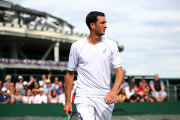 James Ward Day Two: The Championships - Wimbledon 2017