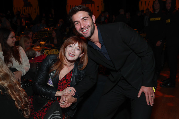 """Premiere Of HBO's """"Watchmen"""" - After Party [watchmen,event,fun,smile,photography,night,flash photography,party,james wolk,frances fisher,california,hbo,party,l,premiere,party,premiere]"""