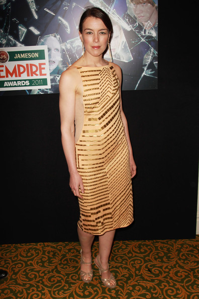 (UK TABLOID NEWSPAPERS OUT) Olivia Williams attends the Jameson Empire Awards 2011 held at Grosvenor House on March 27, 2011 in London, England.
