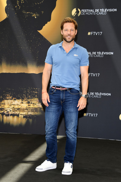 57th Monte Carlo TV Festival : Day 4 [jeans,denim,blue,fashion,human,footwear,textile,muscle,electric blue,premiere,jamie bamber,photocall,fearless,monte-carlo,monaco,monte carlo tv festival]