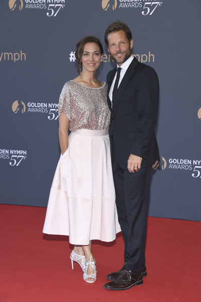 57th Monte Carlo TV Festival : Closing Ceremony [red carpet,carpet,event,fashion,premiere,suit,flooring,dress,formal wear,award ceremony,jamie bamber,kerry norton,l-r,monte-carlo,monaco,monte carlo tv festival : closing ceremony,closing ceremony]