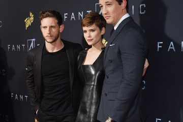 Jamie Bell Guests Attend the 'Fantastic Four' New York Premiere