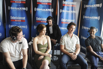 Jamie Bell SiriusXM's Entertainment Weekly Radio Channel Broadcasts from Comic-Con 2015