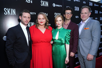 Jamie Bell Danielle Macdonald L.A. Special Screening Of A24's 'Skin' - Red Carpet