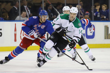 Jamie Benn Dallas Stars v New York Rangers