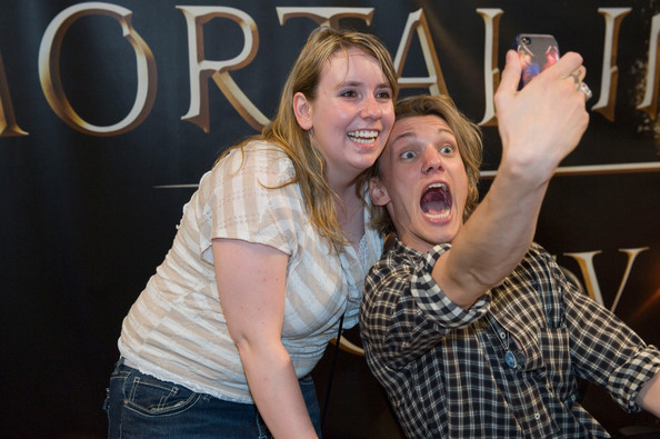 Jamie Campbell Bower Jamie Campbell Bower at the Mall of America for a meet and greet for fans in anticipation for Screen Gems's action-fantasy THE MORTAL INSTRUMENTS: CITY OF BONES, on July 28, 2013 in Bloomington, Minnesota.