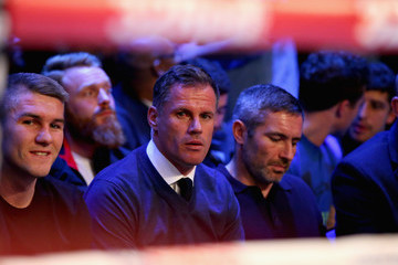 Jamie Carragher Boxing at Echo Arena