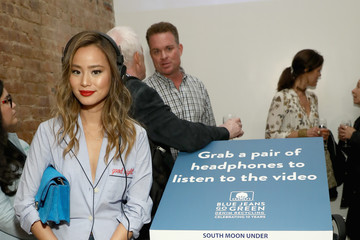 Jamie Chung Cotton Incorporated Celebrates 10 Years Of The Blue Jeans Go Green Denim Recycling Program With A Pop-up Gallery