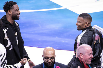 Jamie Foxx Celebrities Attend The 2019 NBA All-Star Saturday Night