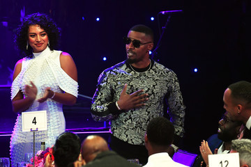 """Jamie Foxx Pre-GRAMMY Gala and GRAMMY Salute to Industry Icons Honoring Sean """"Diddy"""" Combs - Show"""