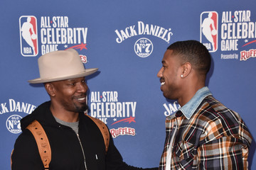 Jamie Foxx NBA All-Star Celebrity Game 2018 Presented By Ruffles - Arrivals