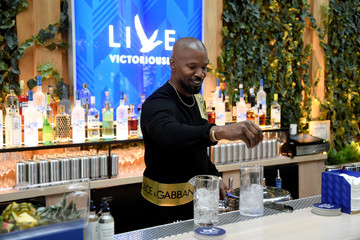 Jamie Foxx Grey Goose Takes Over New York Happy Hour To Launch Live Victoriously